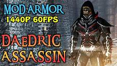 Daedric Assassin Light Armor Skyrim Special Edition Daedric Assassin Armor Pc Youtube