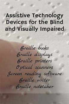 Jobs For The Blind And Visually Impaired Assistive Technology Devices For The Blind And Visually