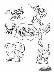 safari animals coloring pages at getcolorings