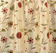 embroidery fabric drapery upholstery fabric embroidered floral faux silk