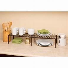 seville classics expandable kitchen cabinet shelf