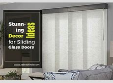 Sliding Glass Door Decorating Ideas   Stunning Decors