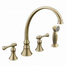 Kohler Kitchen Faucet Kohler Revival Traditional 2 Handle Standard Kitchen