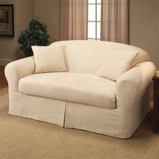 Sofa Seat Slipcover 3d Image by Seat Slip Covers For Stunning Outlook In The Living