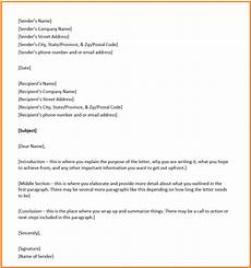 Basic Business Letters Business Letter Format Overview Structure And Example