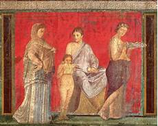 decorar las paredes con frescos romanos pisos al d 237 a