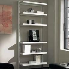 mensole e scaffali scaffale in metallo nolan a muro in acciaio bianco 85 x 32