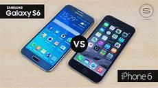 Samsung S6 Vs Iphone 6 Samsung Galaxy S6 Vs Apple Iphone 6 Supersaf Tv Youtube