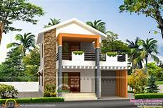 2nd Floor House Design In India Small Double Storied House In 1200 Sq Feet Kerala Home