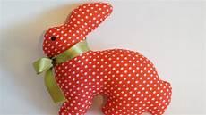 fabric crafts toys make a pretty fabric rabbit diy crafts