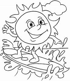 Kostenlose Malvorlagen Sommer Free Printable Summer Coloring Pages For