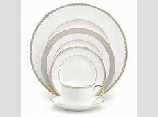 Vera Wang Wedgwood® Golden Grosgrain Dinnerware   Bed Bath