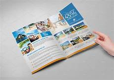 Travel Guide Brochure Template Travel Agency Bi Fold Brochure Brochure Templates