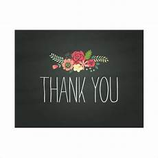 thank you card template free vector 6 chalkboard thank you card designs templates psd ai