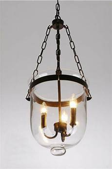 Candle Style Light Fixture Glass Lantern Pendant Pottery Barn Style Chandelier Candle