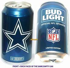 Bud Light Vikings Can 2017 Dallas Cowboys Bud Light Nfl Kickoff Can