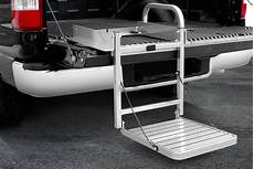 truck bed steps tailgate steps ladders carid
