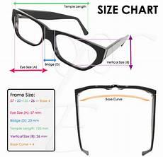 Eyeglasses Measurements Chart Eye Glasses Size Chart With Images Eye Prescription