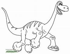 Dinasor Coloring The Good Dinosaur Coloring Pages Disneyclips Com
