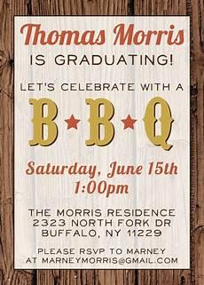 invitation ideas for party barbecue graduation party invitations wording custom bbq