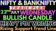 Nifty Option Premium Chart Bank Nifty Amp Nifty Tomorrow 22nd July 2020 Daily Chart