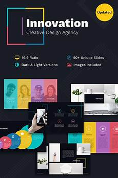 Powerpoint Presentations Template Innovation Creative Ppt For Design Agency Powerpoint