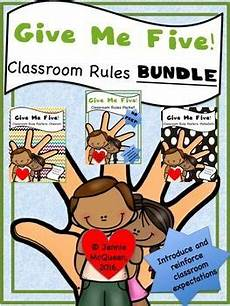 Give Me Five Rules 129 Best Classroom Management Images On Pinterest