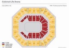 Colonial Life Arena Seating Chart Seating Charts Colonial Life Arena