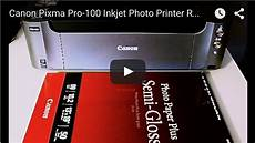 Canon Pixma Pro 100 Orange Light Canon Pixma Pro 100 Inkjet Photo Printer Review
