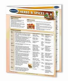Spice Guide Chart Herbs And Spices Chart Quick Reference Guide