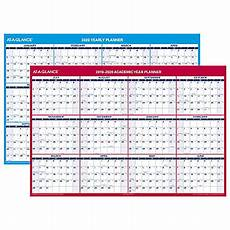 at a glance calendar 2020 at a glance 18 month yearly academicregular wall calendar