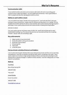 List Of Communication Skills For Resume Mai Le Resume