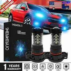 2013 Subaru Crosstrek Light Bulb 2x 5202 Led Fog Light Bulb 100w Ice Blue 8000k For Subaru