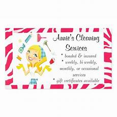 Business Card Cleaning Services Cleaning Services Business Card Pink Zazzle
