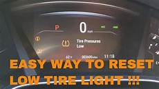 Reset Tire Pressure Light Honda Civic How To Reset Low Tire Light For Tpms For 2017 And 2018