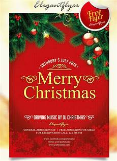 Free Christmas Templates For Flyers 30 Best New Year And Christmas Free Flyers Psd Templates