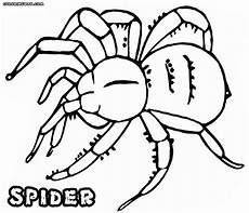 spider coloring pages coloring pages to and print