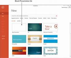 How To Create Template For Powerpoint Create A Presentation With A Template In Powerpoint Dummies