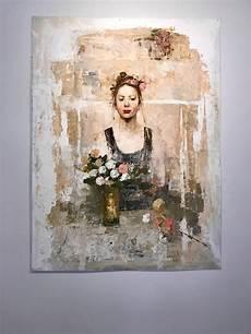 fresco mixed media goxwa fresco monoprint mixed media for sale at 1stdibs