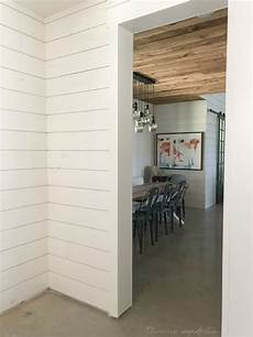 How To White Paint Everything I Ve Learned About Painting Shiplap Domestic