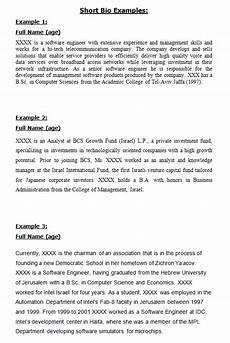 Bio Essay Short Bio Examples Bio Short Bio Examples Personal