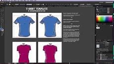 Illustrator T Shirt Template Illustrator T Shirt Template Tutorial Youtube