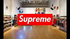 store supreme inside the supreme nyc store