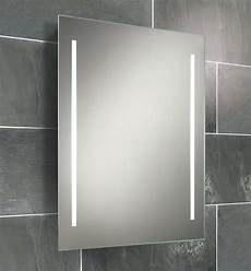 Bathroom Mirror Cabinet With Battery Lights Hib Casey Fluorescent Back Lit Mirror 600 X 800mm 77309000