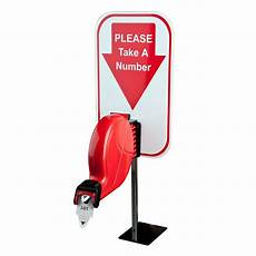 Take A Number Template Take A Number Ticket Dispenser Kit For Retail Services Ebay