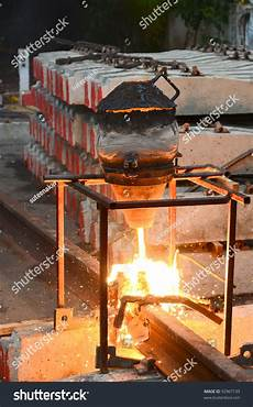 Thermite Welding Thermite Rail Welding Stock Photo 92967139 Shutterstock