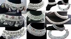 Bajubandh Designs In Silver Latest Silver Anklets Designs Bridal Anklets Designs