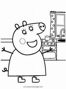 peppa wutz 01 gratis malvorlage in comic