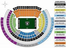 Raiders Tickets Seating Chart 2016 Nfl Season Tickets Bing