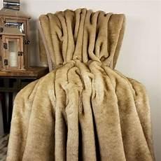 shop collection luxury beige mink faux fur